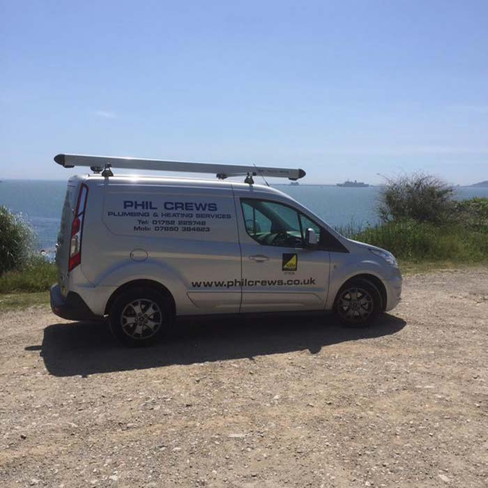 Commercial-plumbing-and-heating-services-plymouth---work-van---Phil-Crews-Commercial-gas-services
